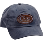Case Distressed Blue Cap 52447