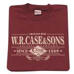 Case T-Shirt-Maroon Small 52486