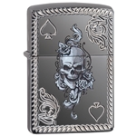 Zippo 29666 Deep Carved Ace Of Spades 29666