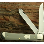 Gray Handled Trapper SFO 18570 CV - Engravable